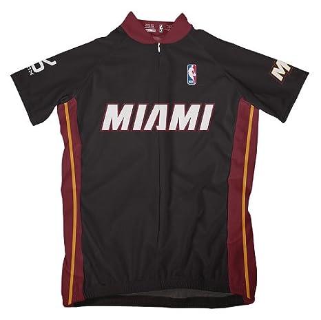 8f25153d Amazon.com : NBA Miami Heat Women's Short Sleeve Cycling Away Jersey ...