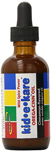 North American Herb and Spice Kid-E-Kare Orega-Cinn Oil, 2 Ounce