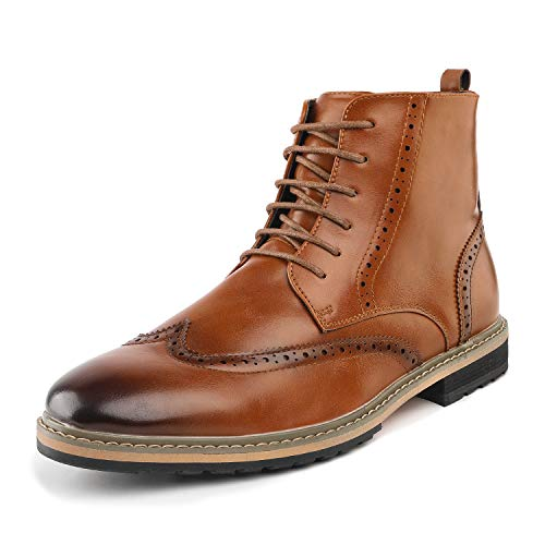 Bruno Marc Motorcycle Leather Oxfords product image