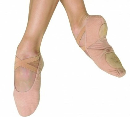 shoes size 271 pro arch canvas bloch 7 pink sole ballet split wfHSxB