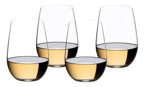(Riedel O Riesling/Sauvignon Blanc Wine Tumblers, Set of 3 with 1 Bonus Glass)