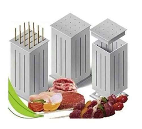 Easy Barbecue Kebab Maker Meat Brochettes Skewer Machine Bbq
