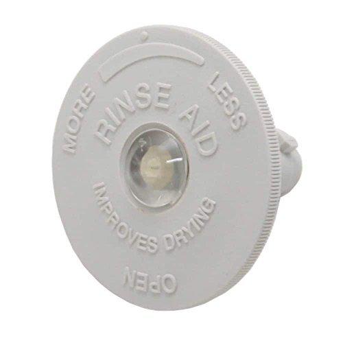 Whirlpool W6-903123 Dishwasher Rinse-Aid Dispenser Cap Genuine Original Equipment Manufacturer (OEM) Part