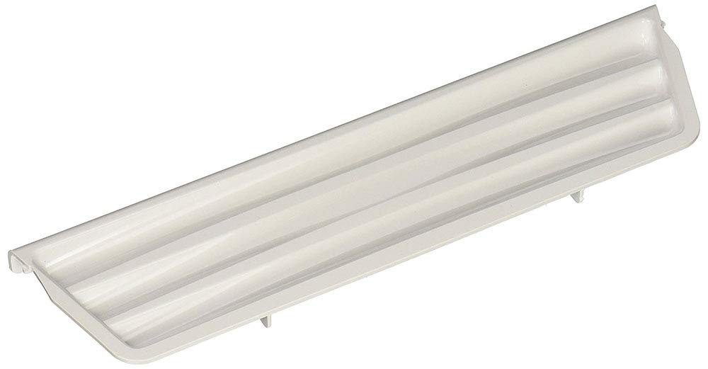 Edgewater Parts 2206670W Refrigerator Dispenser Door Overflow Grille, White, Compatible With Whirlpool, Kenmore, KitchenAid, Maytag, Amana, Estate, Crosley, Roper, Inglis