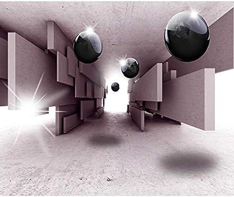 VLIES FOTOTAPETE Blau Kugeln 3D Effekt Tapete XXL Vliestapete