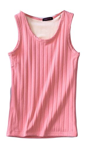 Scoop M Pink Cotton Top amp;W Tank amp;S Neck Women Vest 4qvtw