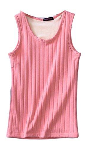 Scoop M Pink Cotton Top amp;W Tank amp;S Neck Women Vest 4qvtw