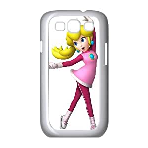 Samsung Galaxy S3 9300 Cell Phone Case White_Super Smash Bros Princess Peach_005 Eptkh