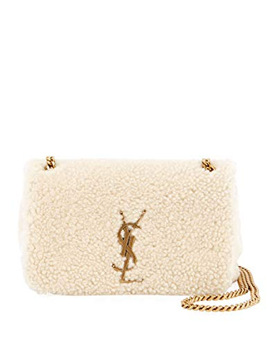 Image Unavailable. Image not available for. Color  Saint Laurent Kate  Monogram YSL Small Shearling Crossbody Bag made in Italy 39a53ddcea