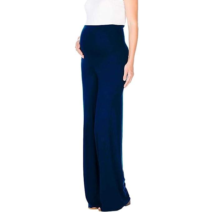 Amazon.com: Pantalones de maternidad para mujer embarazada ...