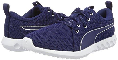 Depths silver blue Metallic Puma Zapatillas 2 Azul Deporte Para Mujer Carson Exterior De 7xxUH