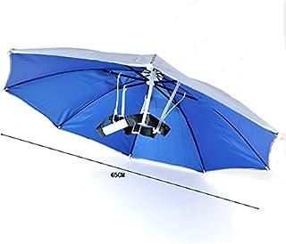 TENGGO Windproof Été Pêche Camping Randonnée Pliable Soleil Parapluie Couvre-Chefs