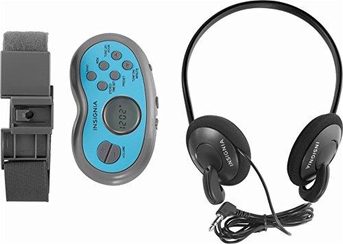 Insignia NS-R5111A - Portable Digital AM/FM Radio - Gray (Am Insignia Fm Radio)