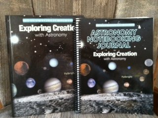 Apologia Astronomy SET with Text and Notebooking Journal (Exploring Creation) (Apologia Science Journal)