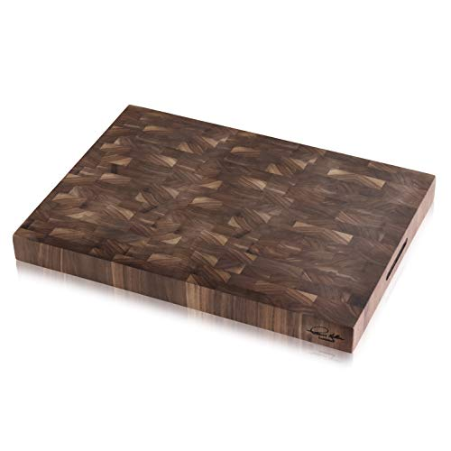 (Cangshan | Thomas Keller Signature Collection Walnut End-Grain Cutting Board,16 x 22 x 2.0