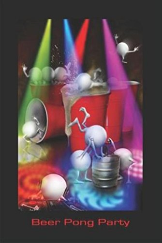 Beer Pong Party By Joseph Charron Balls College Poster 24x36 ()