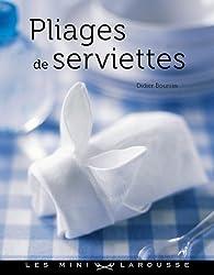 Pliages de serviettes