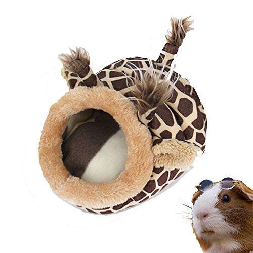 PULEIDI Guinea Pig Bed – Washable Guinea Pig Cage Accessories Small Animal Bed Hideout for Guinea Pig,Chinchilla…