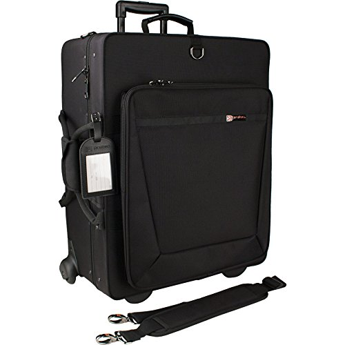 Pro Tec iPac Case IP301QWL Quadruple Trumpet PRO PAC Case with Wheels