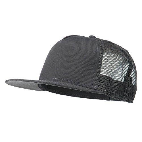 5 Panel Prostyle Trucker Caps - Charcoal Grey OSFM