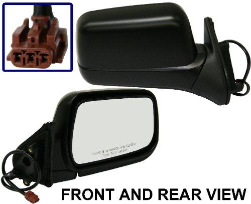 For Nissan FRONTIER 98-04 SIDE MIRROR RIGHT PASSENGER, POWER, FOLDING, KOOL-VUE ()