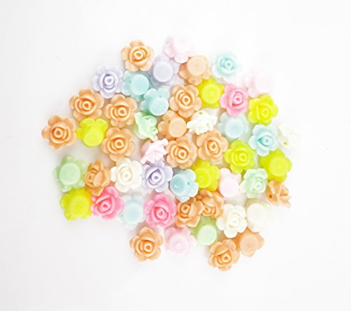 Yueton Mixed Flower Spacer Charms