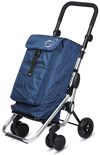 Playmarket Go Up Basic Carro de la compra, 110 cm, 39, 5 Litros, Navy