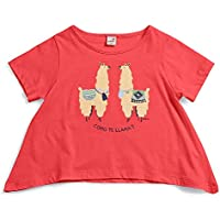 Camiseta Tagarela Green Vermelha - Infantil Menina