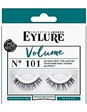 Eylure Volume No. 101 pre-glued, per stuk verpakt (1 x 2 stuks).