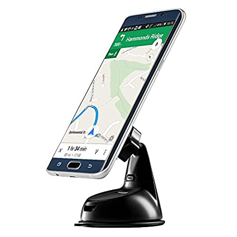 ZILU CM011 Magnetic Car Phone Mount for Dashboard & Windshield Magnetic Car Mount holder for iPhone X/8/7 Plus 6s Plus SE Andorid Phones and other Smartphones-Retail Packaging …Black