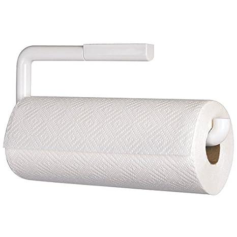 mDesign Portarrollos de cocina para pared - Soporte para rollo de papel - El perfecto aplique de pared para rollo de cocina - Accesorios de cocina - Color ...