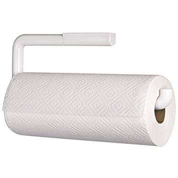 Mdesign Paper Towel Holder Wall Mounted Kitchen Roll Holder Made