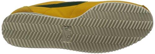 Nike Classic Cortez, Zapatillas de Gimnasia para Hombre Yellow Ochre Gorge Green