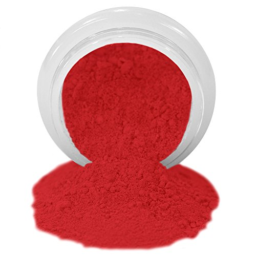 ColorPops by First Impressions Molds Matte Red 10 Edible Powder Food Color For Cake Decorating, Baking, and Gumpaste Flowers 10 gr/vol single jar (Dust Flower)