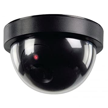 Amazon.com : FAKE DUMMY DOME SECURITY CAMERA MOTION DETECTOR LED ...