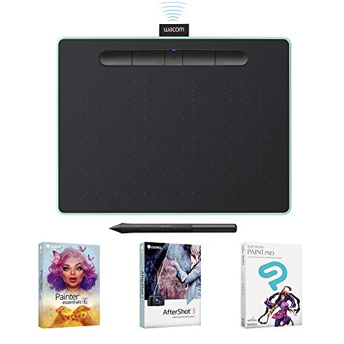 Wacom Intuos Wireless Graphic Tablet with 3 Bonus Software, used for sale  Delivered anywhere in Canada