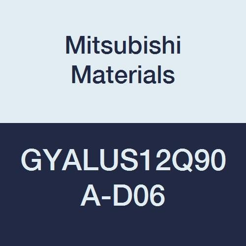 0.750 H 1.250 Neck 0.236 Grooving Depth 7 L 0.750 W Left 0.079//0.088 Seat Mitsubishi Materials GYALUS12Q90A-D06 GY Series Mono Block Internal Grooving Holder 90/° Angle