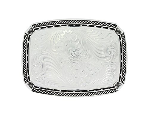 Montana Silversmiths Fastened at All Four Corners Buckle (32910NF)