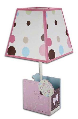 NoJo Ladybug Lullaby Lamp and Shade, Baby & Kids Zone