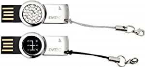 Emtec 8GB S350 & 8GB S360 - Duo Pack 8GB USB 2.0 unidad flash USB - Memoria USB (8 GB, USB 2.0, Type-A)