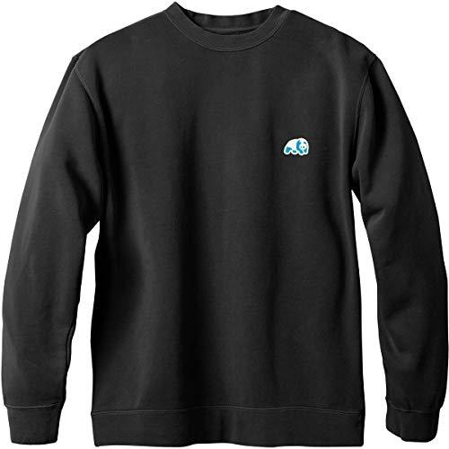 (Enjoi Men's Small Blue Panda Patch Sweater,Large,Pigment)