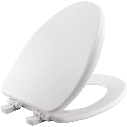 Astounding Bemis 19170Plsl 000 Alesio Ii Toilet Seat Will Slow Close Never Loosen And Provide The Perfect Fit Elongated High Density Enameled Wood White Ocoug Best Dining Table And Chair Ideas Images Ocougorg