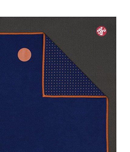 "Yoga Towel Chakra: Yogitoes Yoga Mat Towel, Chakra Blue, 72"""
