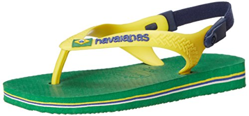 Havaianas Brazil Sandal Green Backstrap product image