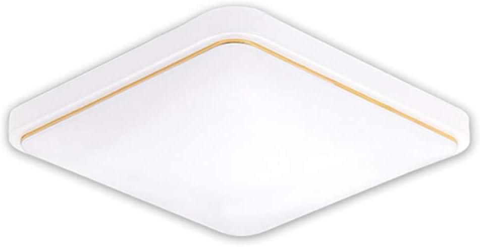 Argento 30cmx30cm//220v 18w Risparmio Energetico Plafoniera da Soffitto per Cucina Camera da Letto Soggiorno Fotica LED Soffitto Luce Quadrato Soffitto Luce Lampada Design Moderno