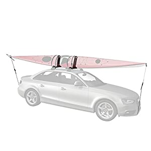 Whispbar WB400 J-Cradle Kayak Carrier - Rooftop Kayak Boat Rack