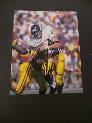 Tony Gonzalez Signed California Golden Bears Autographed 8x10 Photograph