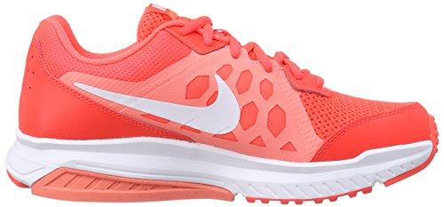 Nike Dart 11 - Zapatillas de running para mujer, color gris / blanco / negro, talla 38 Rojo (bright crimson/white-lava glow 600)