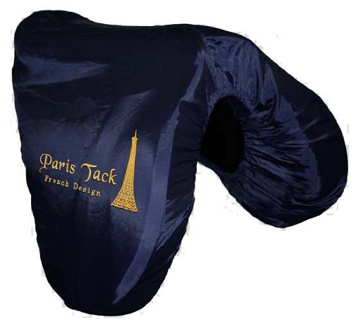 Nylon All Purpose Saddle - Paris Tack AP Nylon English Horse Saddle Cover - Navy