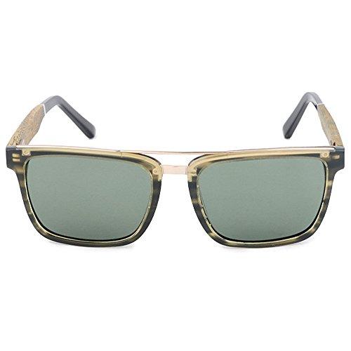Vintage de Color Libre Gafas de de SunglassesMAN Sol al UV400 Wayfarer Green Sol Aire Yxsd Deportivas Green Aviator Cool Gafas diseñador Retro HH04tq